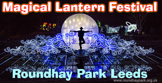 Magical Lantern Festival at Roundhay Park Leeds